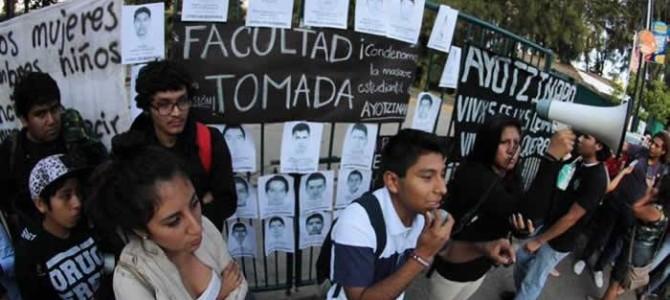 ¡POR LA MÁS AMPLIA UNIDAD DE ACCIÓN CONTRA EL GENOCIDIO DE ESTUDIANTES EN IGUALA-MÉXICO!