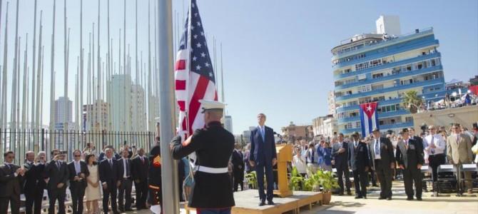 Frente al restablecimiento de relaciones diplomáticas entre Cuba y EEUU… ¡FUERA EL IMPERIALISMO YANQUI DE CUBA!
